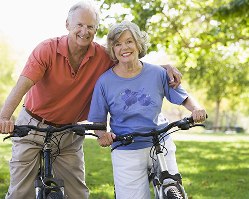 galleryhome_0003_bigstock-Senior-Couple-On-Bicycles-3916884